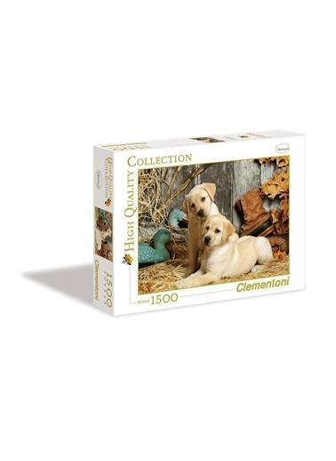 Clementoni Hunting Dogs (1500 parça) Renkli